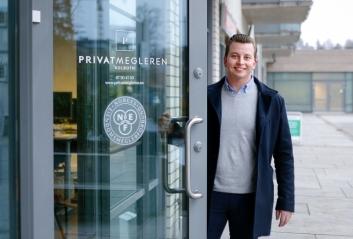 Thomas Sørlie er PrivatMeglerens nyeste kjentmann.