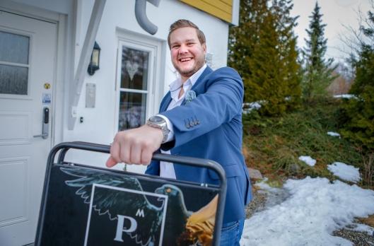 HØY KUNDETILFREDSHET: Fredrik Dammen scorer høyt på kundetilfredshet i Privatmeglerkjeden.