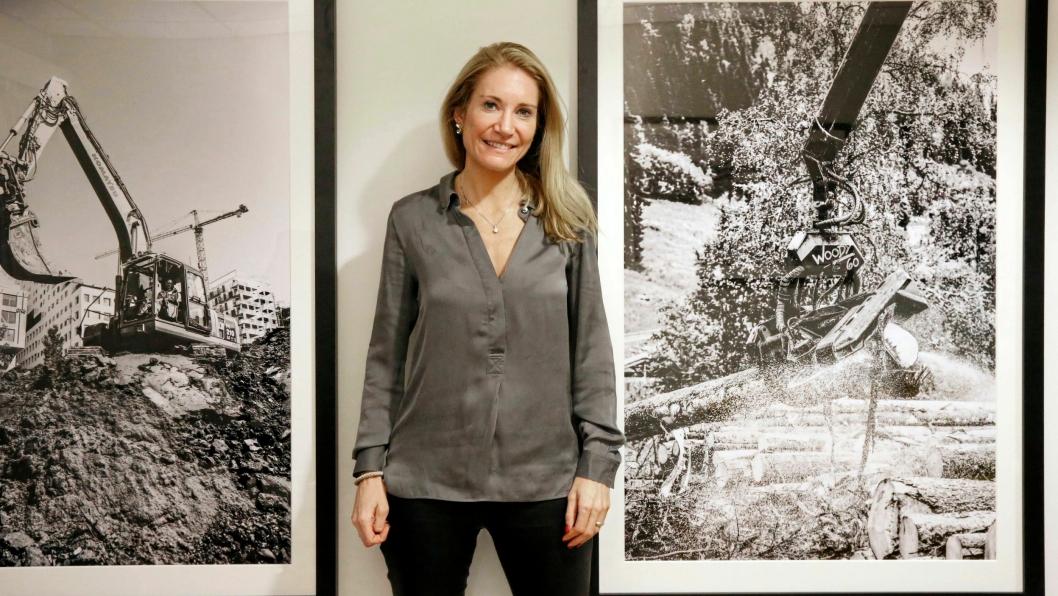 MEF-sjef Julie Brodtkorb har allerede vunnet én kamp for entreprenørene, og målet for starten på 2018 er satt. Foto: Klaus Eriksen