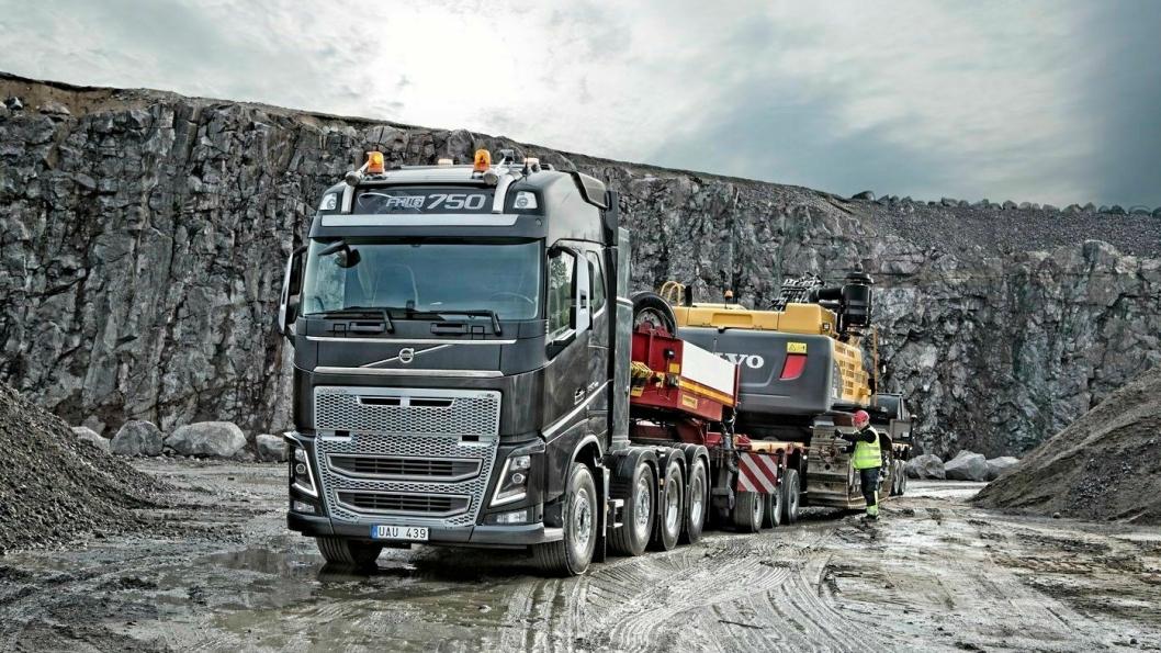 AB Volvo produserer og markedsfører blant annet anleggsmaskiner og lastebiler.