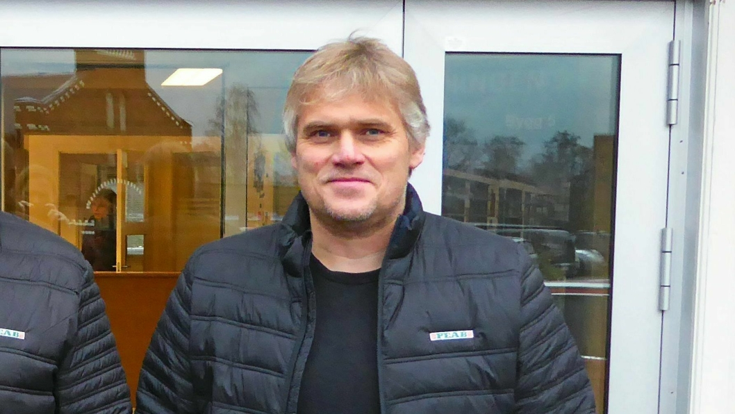 1. januar 2018 tok Petter Solli over som distriktssjef for Peab i Telemark og Vestfold. Foto: Peab