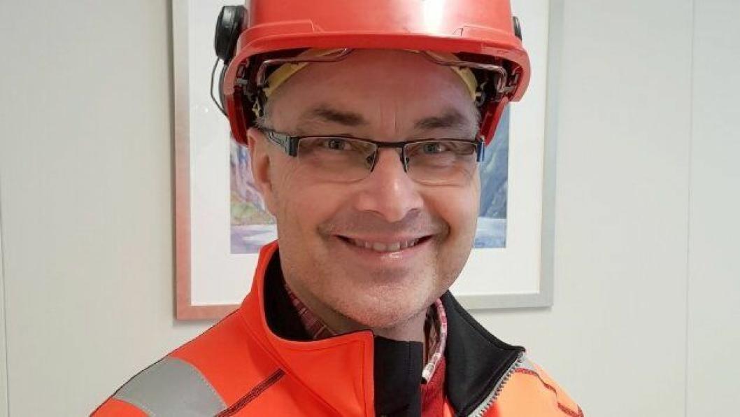 Fra januar 2018 er Rune Smidesang prosjektleder for E6 Biri-Otta. Foto: Jan Erik Wangen, Statens vegvesen