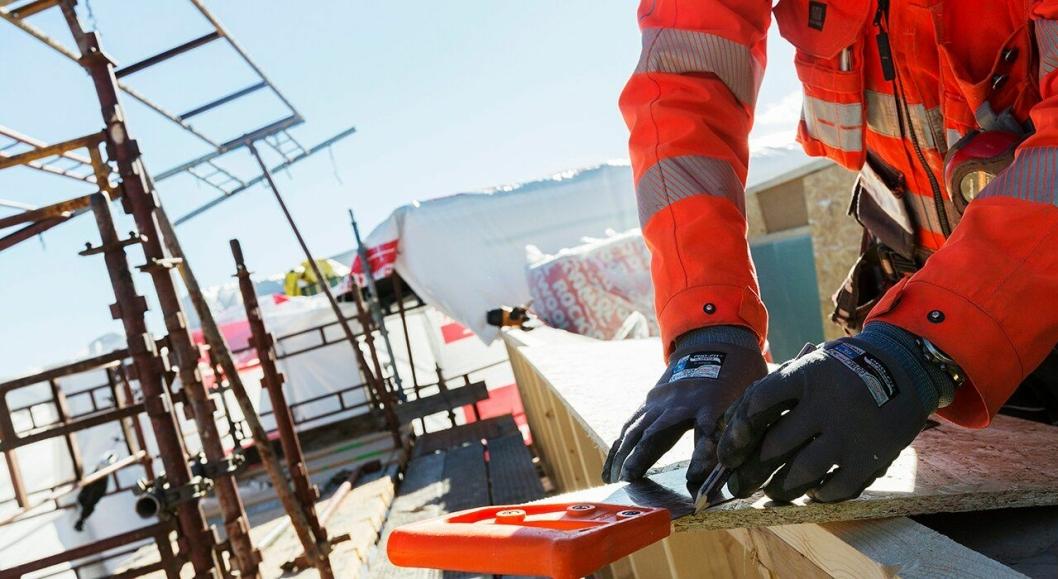 Illustrasjonsbilde fra byggeplass. Foto: Obos