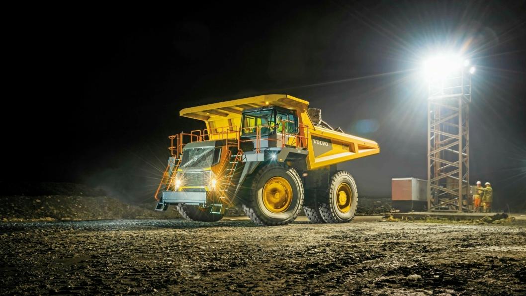 NYTT PRODUKT: Tipptruckene blir nytt produkt for Volvo CE i nyere tid.