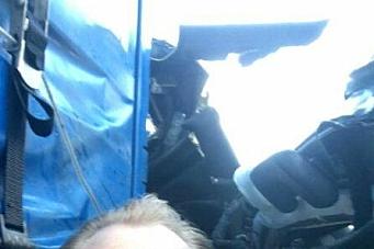 Høy på adrenalin-selfie