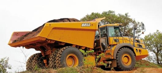 Bells nye 60 tonns dumper