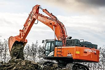 Hitachi fornyer 50-tonner