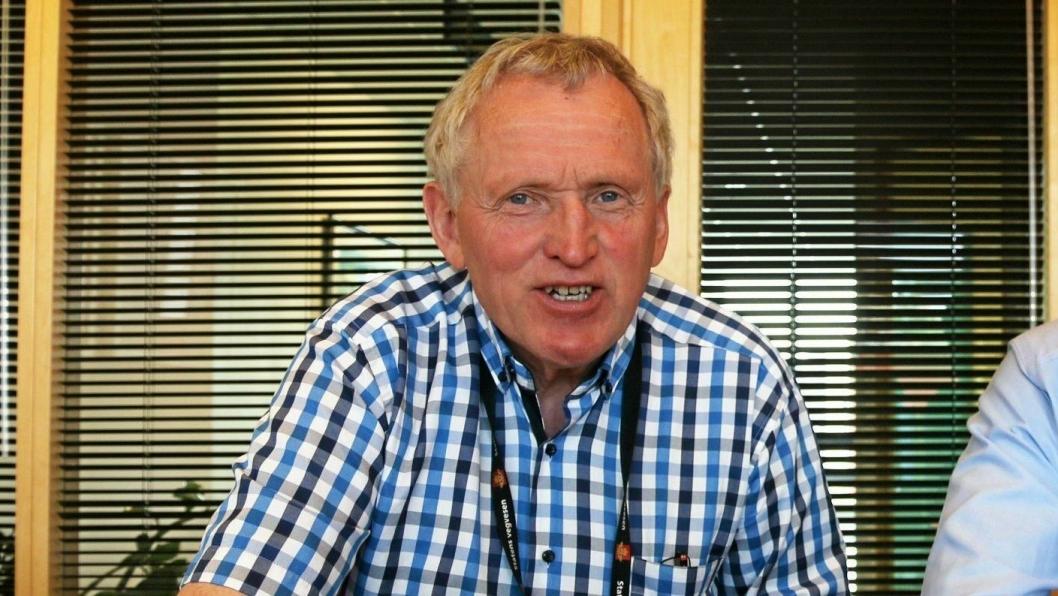 Regionveisjef Torbjørn Naimak i Statens vegvesen. Foto: Statens vegvesen