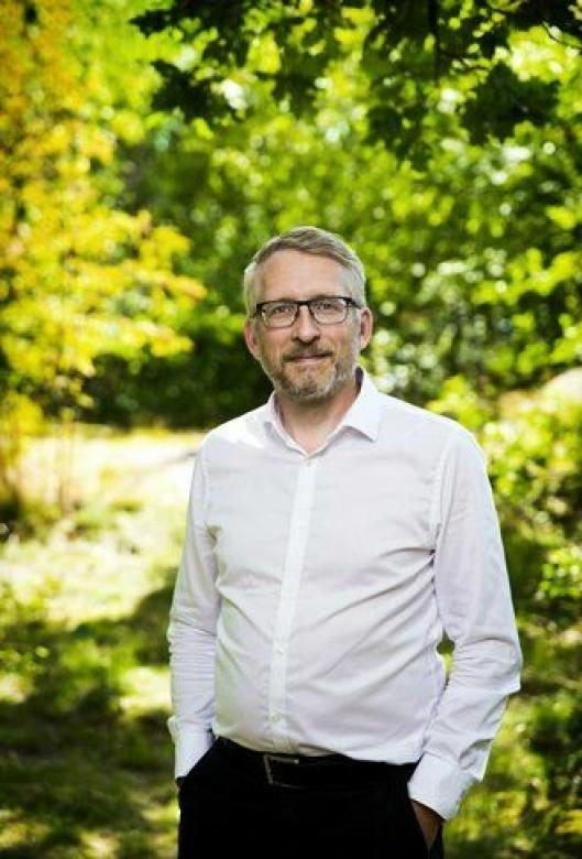 Lars Mårtensson, miljø- og innovasjonsansvarlig i Volvo Trucks.