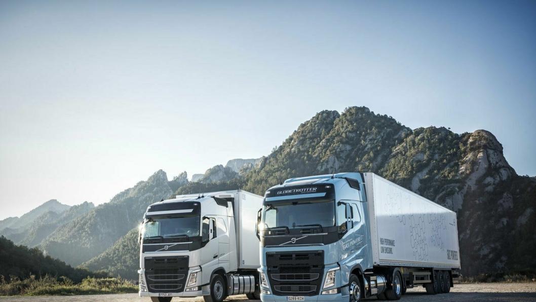 Volvo lanserte LNG-versjoner av FM og FH i oktober 2017. Disse er ikke i salg ennå, men kan bli en del av statistikken for 2018.