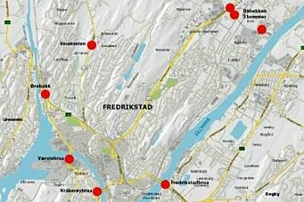 Bygger bomring i Fredrikstad