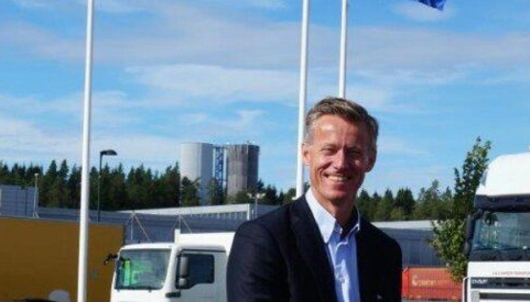 Administrerende direktør i Volmax, Grant Larsen, ser frem til å styrke konsernets posisjon i Hamar-regionen. Arkivbilde.