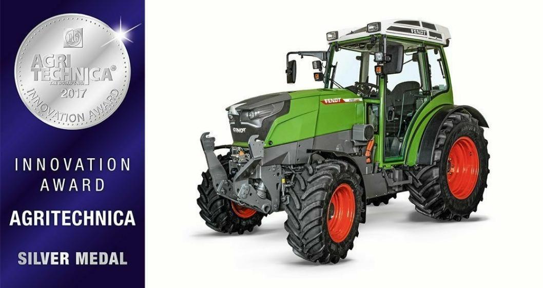 Elektrisk traktor - Fendt e100 Vario.