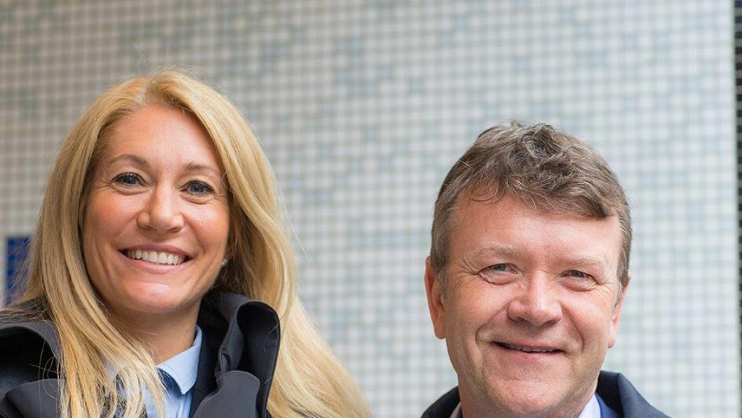 Både påtroppende adm. direktør, Julie Brodtkorb og styreleder i MEF, Arnstein Repstad, kommer til Loendagene 2017.