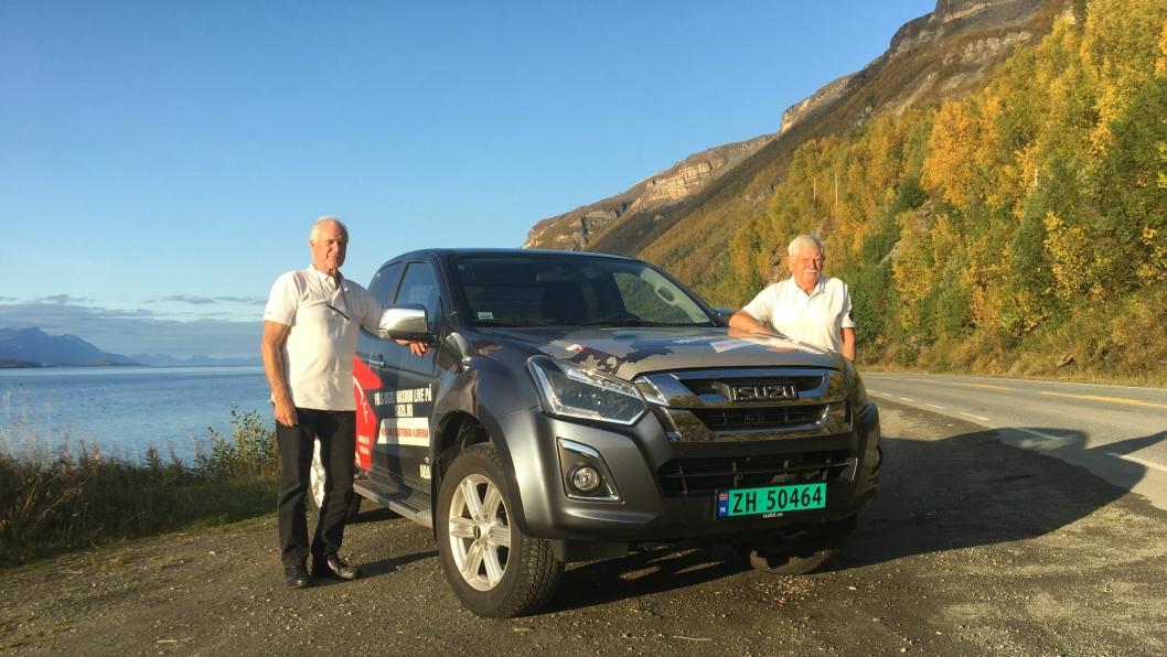 Sjåførene på turen var Steinar Jortun og Anders Tollaas.