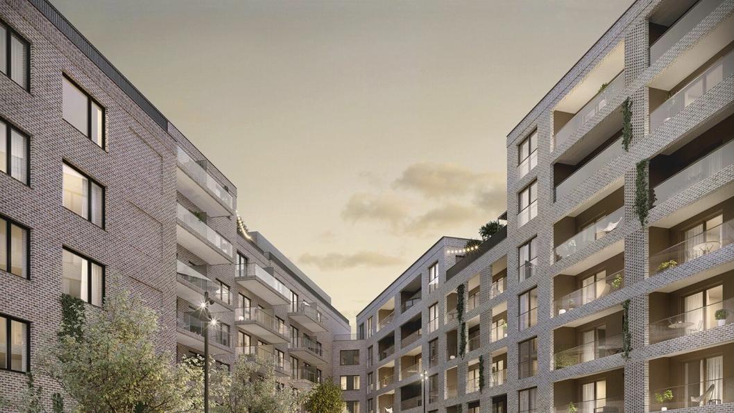 Den nye bydelen Kapellgärdet skal ligge ca. en kilometer nord for Uppsala sentrum.