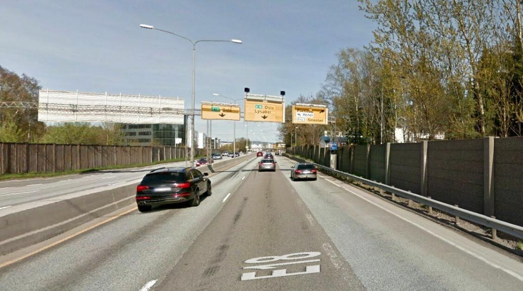 Det skal bli vei med bedre trafikkavvikling enn gagens E18 mellom Ramstadsletta og Lysaker vest for Oslo.