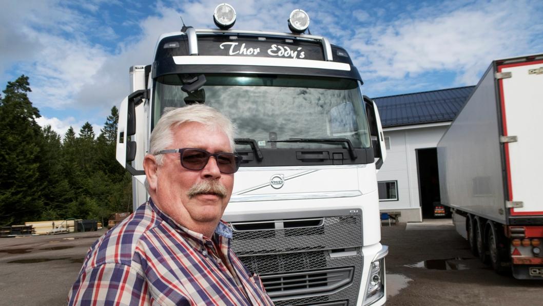 RETTEN: Thor Eddy Hansen mener PostNord skylder ham over 800.000 kroner. Nå skal de møtes i Oslo Tingrett.