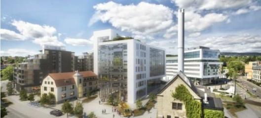 Skal bygge miljøvennlige kontorer på Skøyen