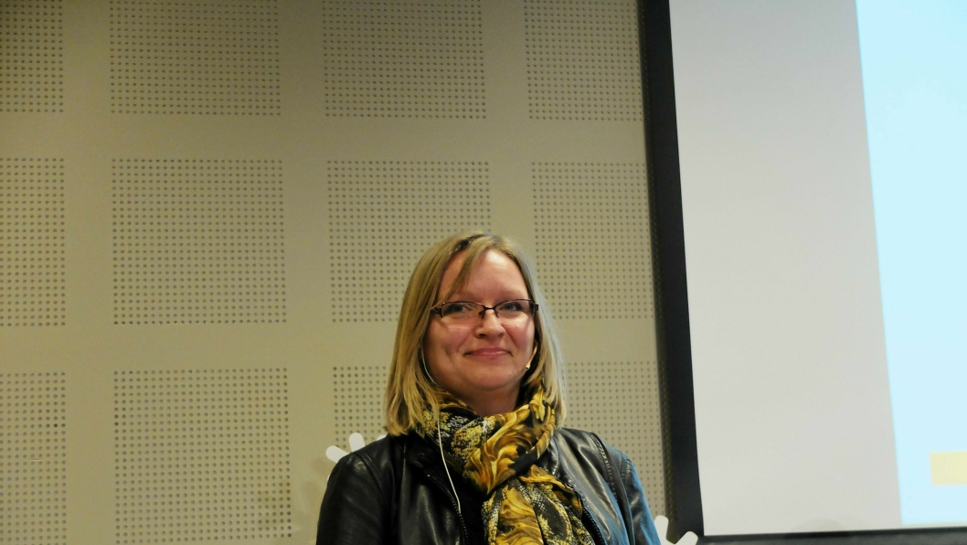 Avdelingsdirektør Bettina Sandvin i Statens vegvesen har hatt «hodebry» med enkelte kontrakter med utenlandske bedrifter, men ønsker internasjonal konkurranse i Norge. Illustrasjons