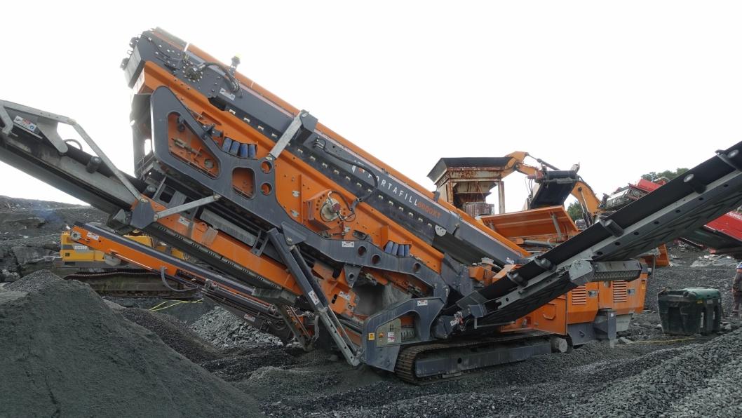 Portafill 6000XT i full drift på Rennesøy i Rogaland.