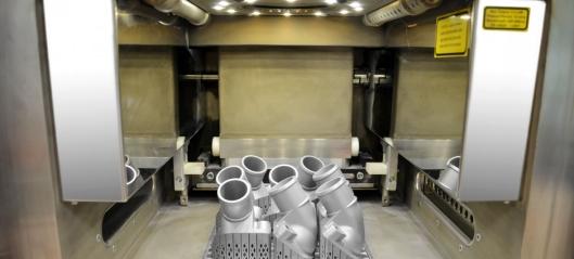 Første 3D print i metall