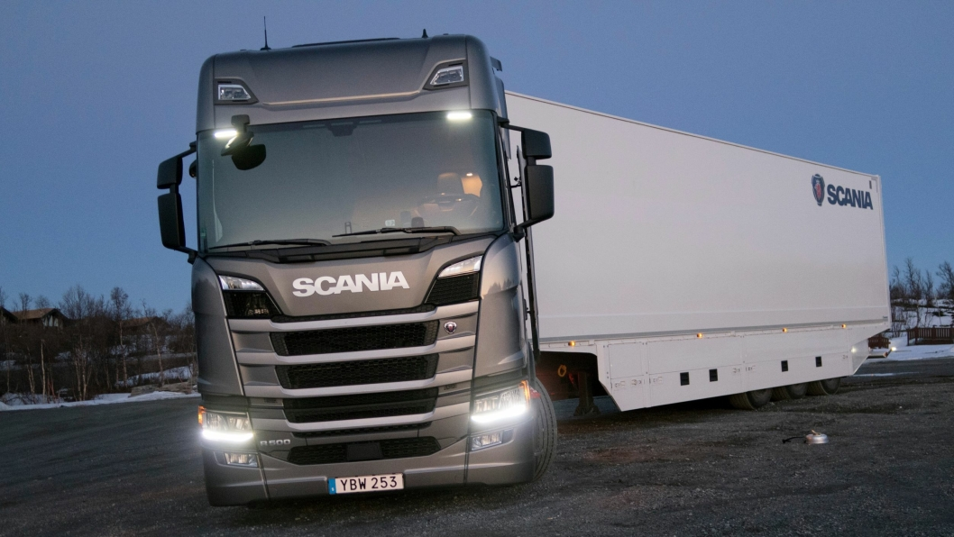 ØKER RESULTAT: Halvårsresultatet er hyggelig lesning for Scania ledelsen. 58,7 milliarder i omsetning og et overskudd på 6,4 milliarder er fasiteten etter første halvår.