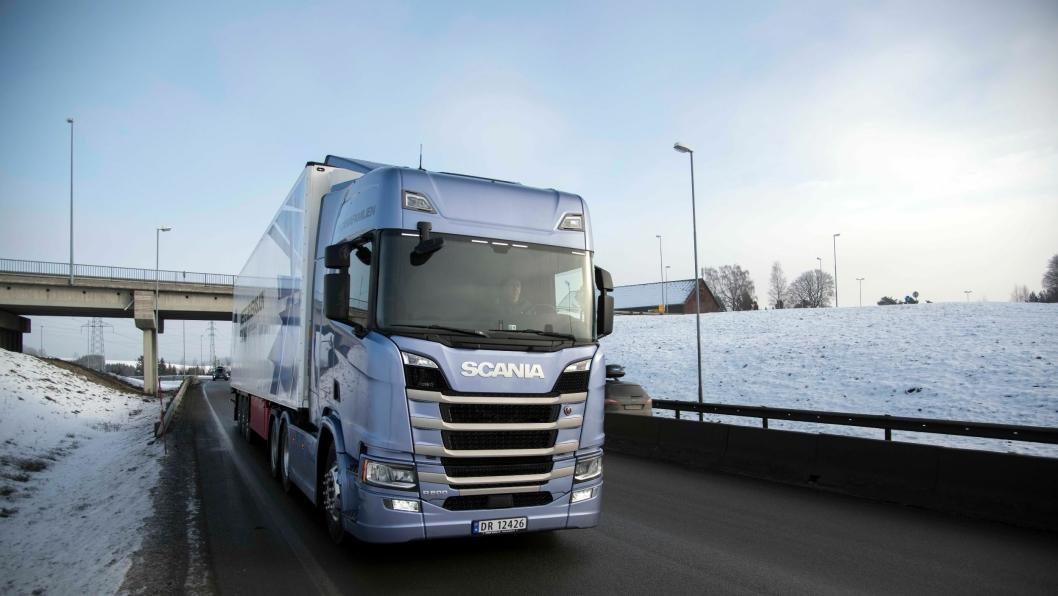 Lanseringen av ny generasjon Scania på slutten av sommeren 2016 virker inn på nyregistreringer i Norge første halvår 2017.