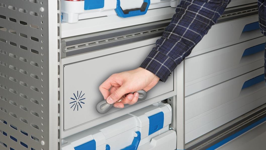 Sikkerhetsboksen Safe RFID.
