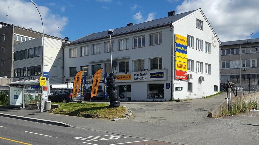 Johs. Bjerke Rekvisita AS på Brynseng.