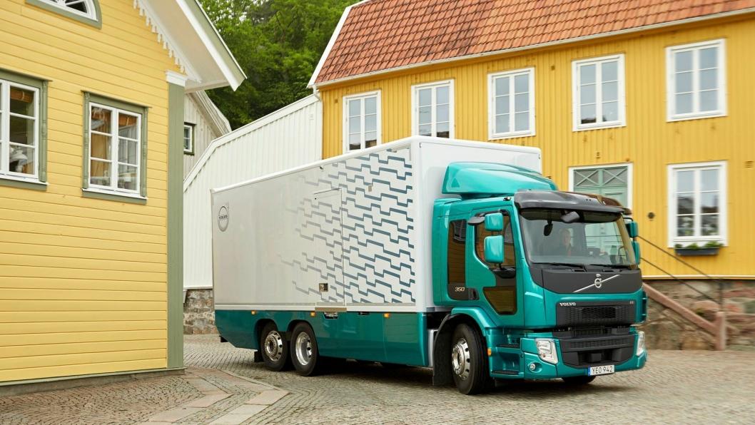 Nye Volvo FE 350. Salget starter i juni og produksjonen i september 2017.