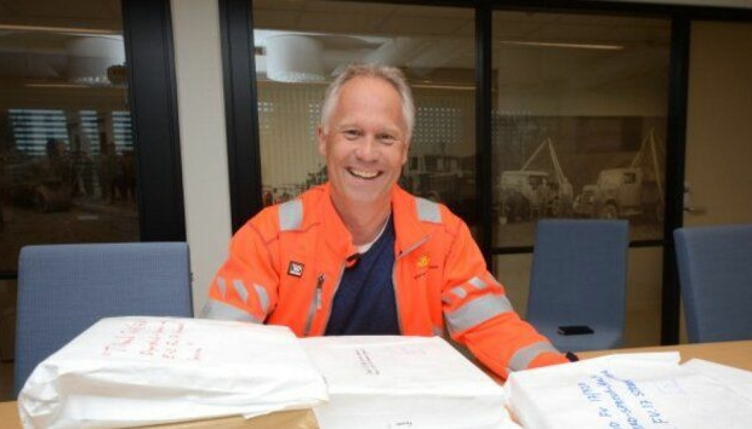 Prosjektleder Jo Bernt Brønstad er fornøyd med den store interessen fra entreprenørene.