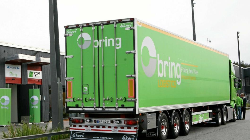 Både Bring og andre transportselskaper må være tolmodige i forhold til ny hvile- og oppstillingsplass på nye Svinesund Transportsenter.