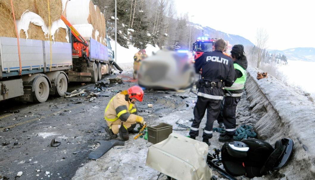 17. februar 2012 frontkolliderte Cato Mathisen med en møtende personbil på E6 sør for Lillehammer. Sjåføren i personbilen omkom.