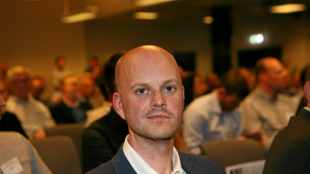 Martin Hirth i Greensight fronter grønn tungtransport.