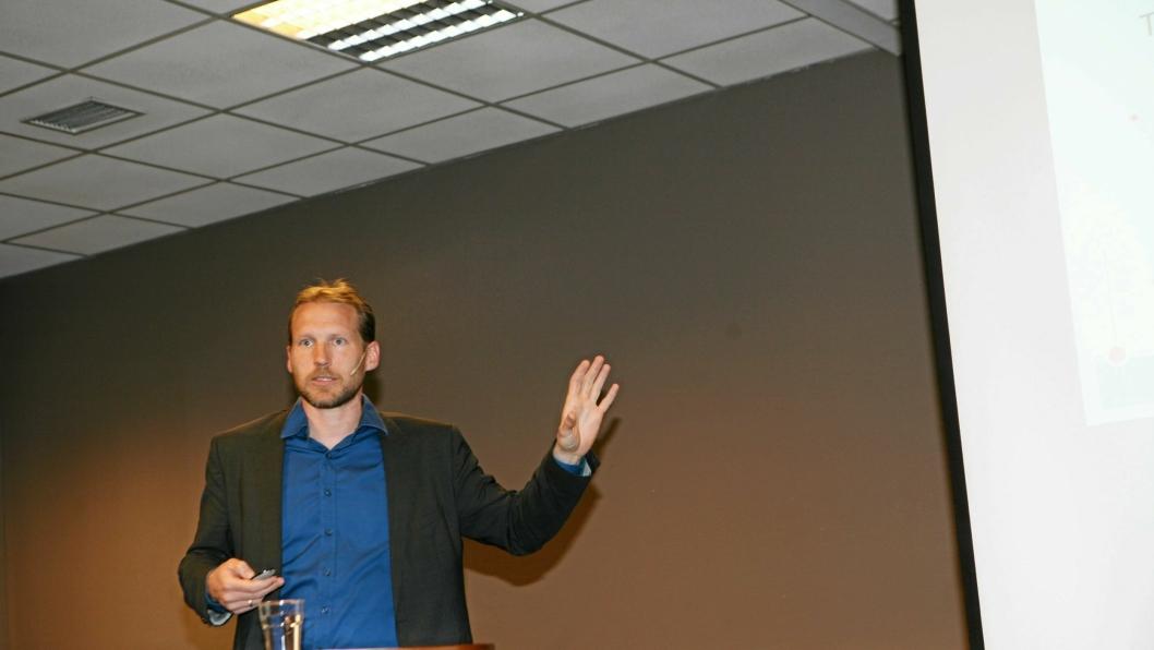 – Hydrogen er tingen understreket Martin Kirkengen, avdelingsleder ved Institutt for energiteknikk (IFE), på Zeros tungtransportforum nylig.