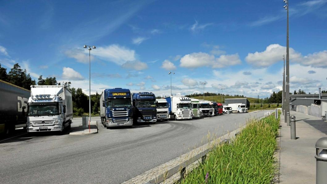 Svinesund ble siste stopp for 60 vogntog tirsdag.