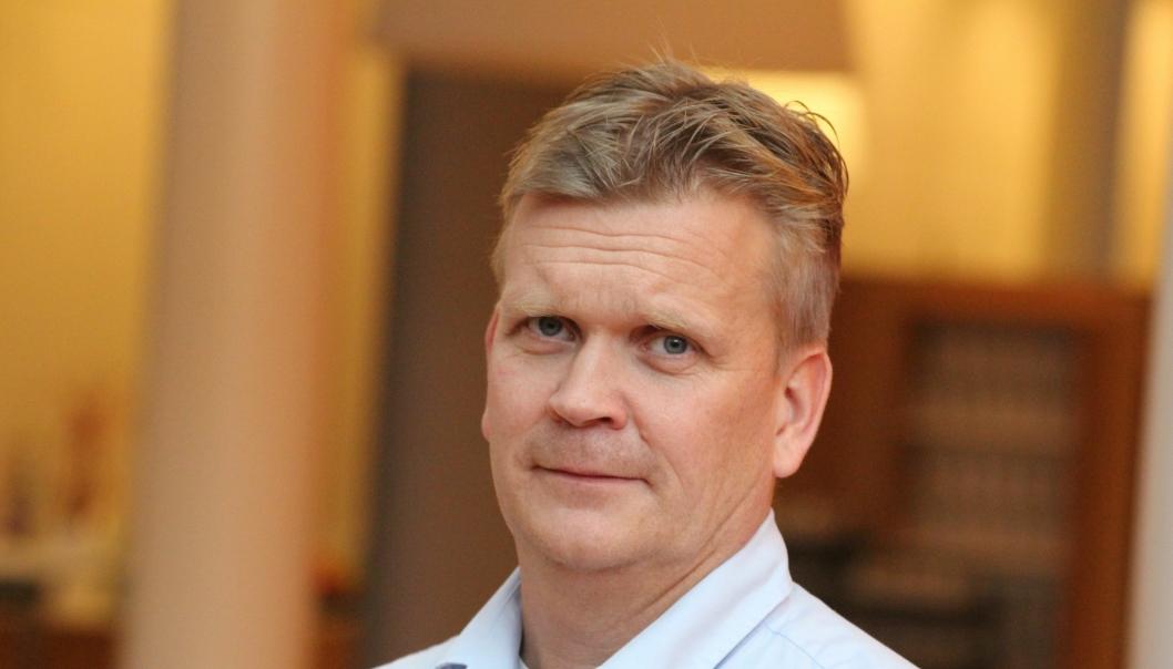 Asfaltdirektør Joar Caspersen i NCC Industry har fått god uttelling på Vestlandet.
