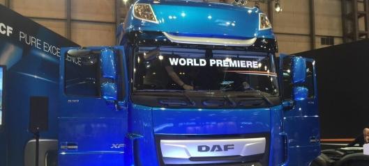 Avduking: Ny generasjon DAF-lastebiler
