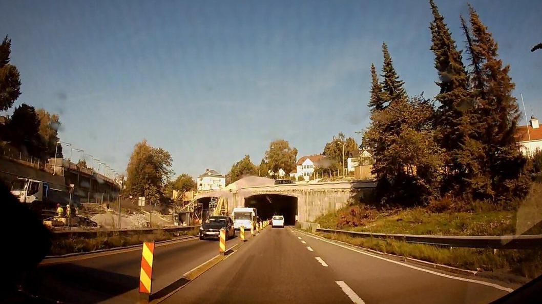 Det innføres vinterfartsgrense 60 km/t på store deler av Ring 3 i Oslo.