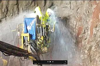 Krevende kamp mot tunnelvann i Seljord