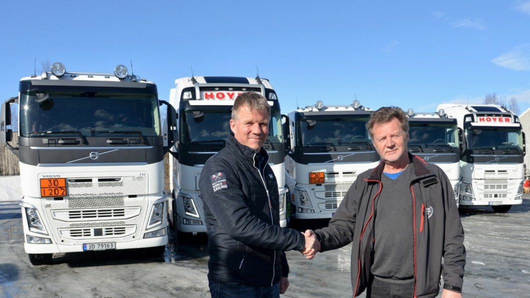 Fleet-Manager Odd Jacobsen hos Hoyer Norway AS.