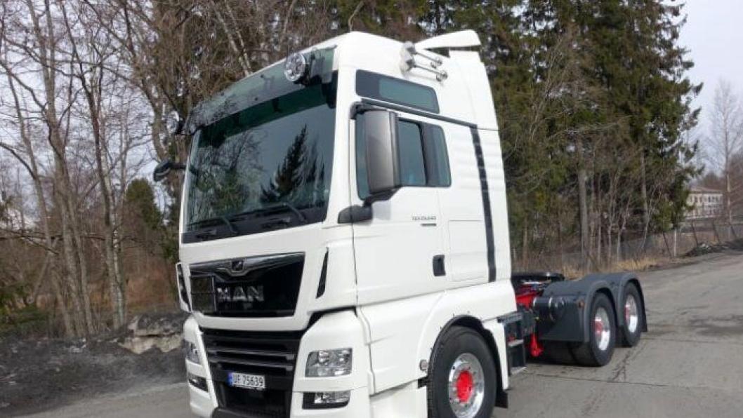 Norges første MAN Limited PerformanceLine Edition til Thermotank AS.