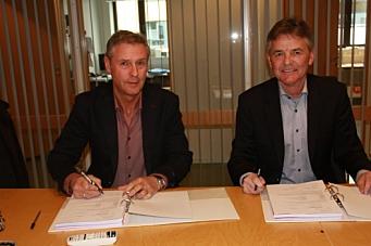 NCC signerte med Bybanen Utbygging