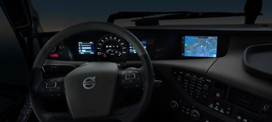 Nytt infortainment-system fra Volvo