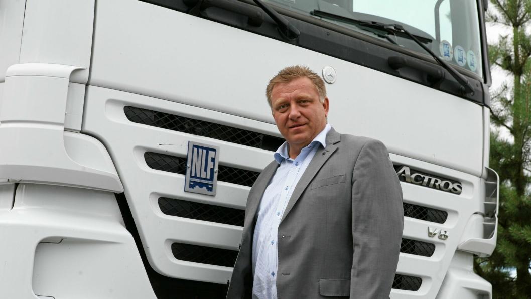 Administrerende direktør Geir A. Mo i Norges Lastebileier-Forbund (NLF) med klar tale mot Ole Einar Adamsrød og NTF.
