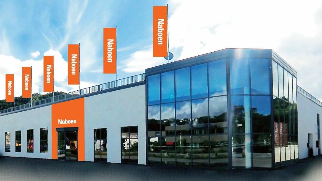 Illustrasjon av de nye lokalene som Naboen Bergen flytter inn i.