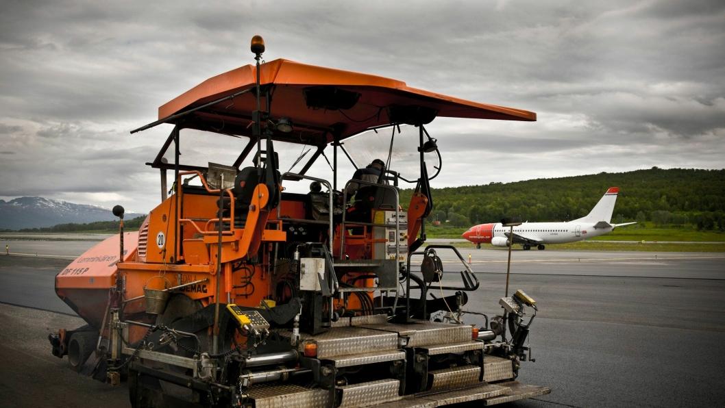 Bilde fra et av Lemminkäinens tidligere flyplassprosjekter.