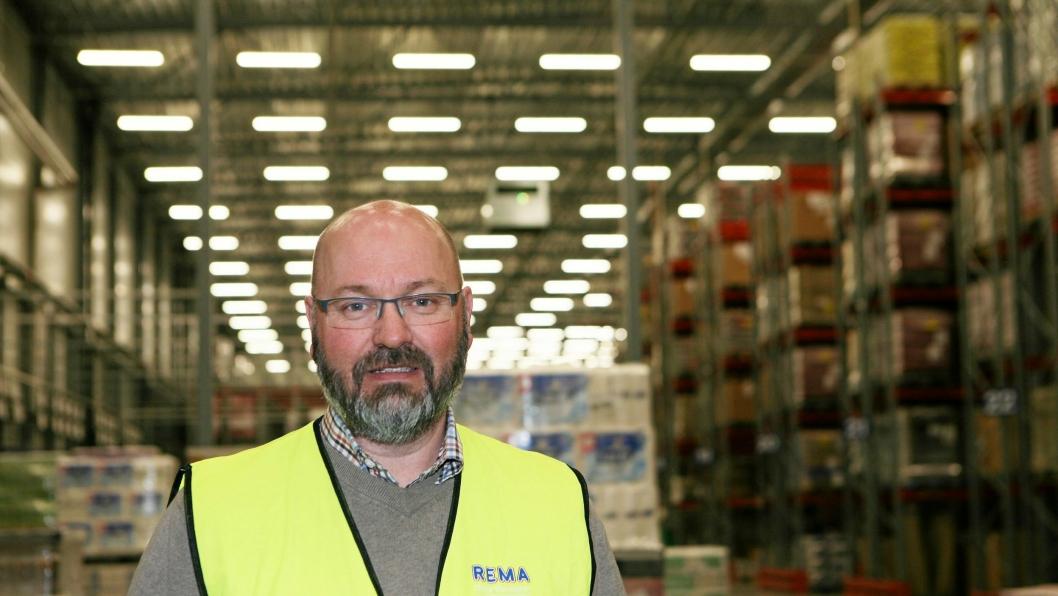 Daglig leder Gunnar P. Lian i Rema Distribusjon Trondheim forteller at den prekære trafikksituasjonen i området skaper store vansker for transporten av Rema-godset.