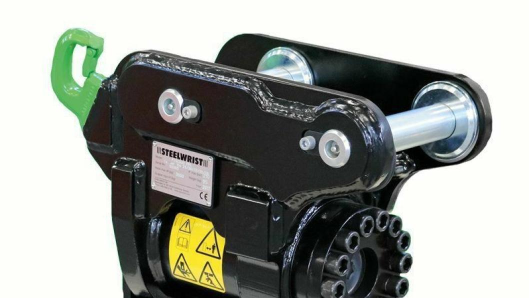 Steelwrist fortsetter å lansere nye produkter. Her den nye Steelwrist Powertilt.